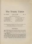Trinity Tablet, June 26, 1906