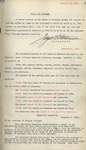 Trinity College Trustees (Meeting) Minutes, Volume 4 (1926-1937)