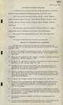 Trinity College Trustees Minutes, Vol 8 by Trinity College Trustees